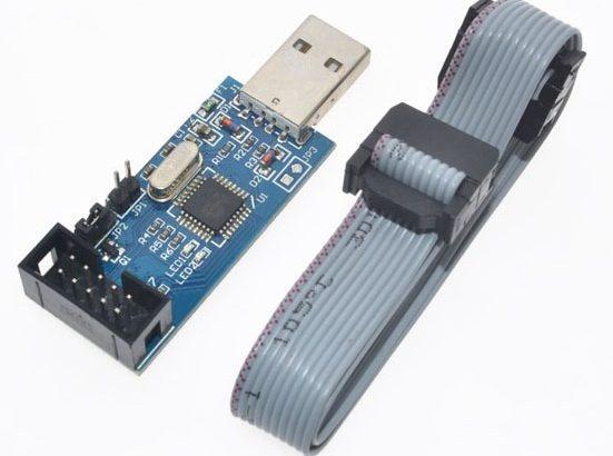 Программатор AVR USBASP – USBISP для микро-контроллеров ATmel