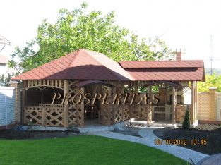 Беседки, террасы, садов домики, колодцы, качели, перголы, барбекю, навес для авто, деревянная мебель