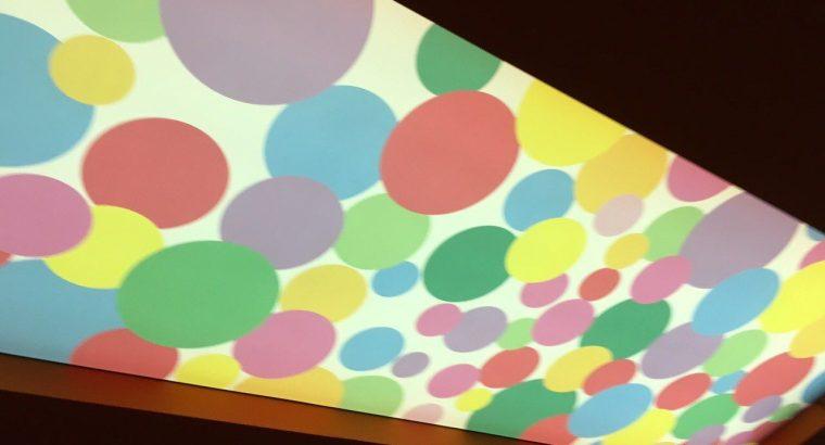Экологически чистая фотопечать на натяжных потолках и стенах