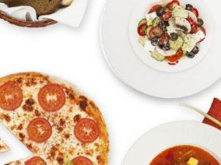 Доставка бизнес-ланча и пиццы в офис!