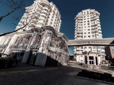 Apartament cu 2 camere în centrul Chișinăului. Complex rezidențial Crown plaza 125.000 €