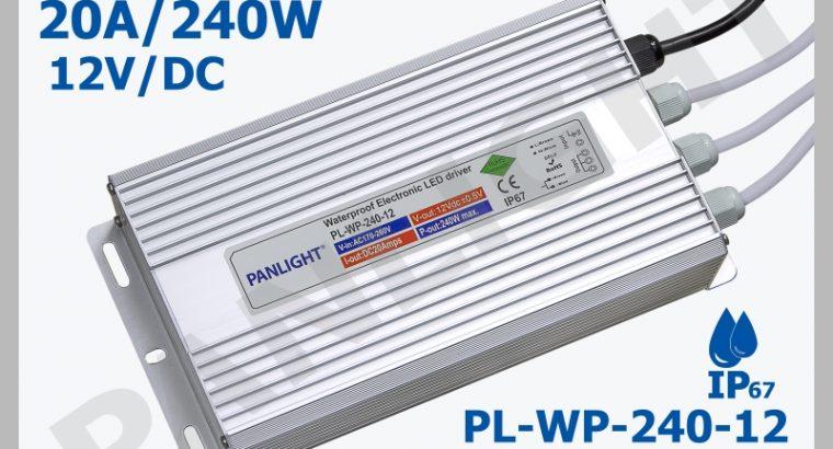 TRANSFORMATOR BANDA LED, SURSA DE ALIMENTARE LED 12V, ADAPTOR ALIMENTARE BANDA LED, PANLIGHT