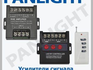 AMPLIFICATOR BANDA LED, CONTROLLER RGB LED, PANLIGHT, ILUMINAREA CU LED IN MOLDOVA, BANDA LED DECORATIVE
