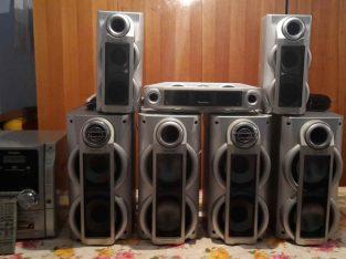 Vânzarea unui centru de muzică Panasonic