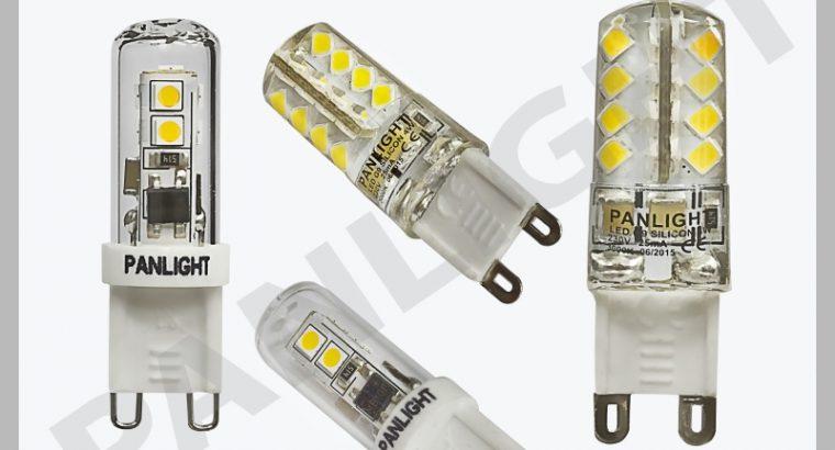 BEC G9 LED, ECONOMIE ENERGIE, BECURI, SPOTURI, BECURI SPOTURI LED, PANLIGHT, ILIMINAREA CU LED