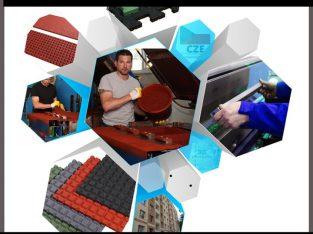Чехия. Производство резиновых ковриков для авто.