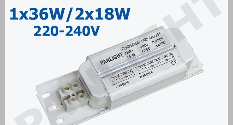 Дроссели электромагнитные для люминесцентных ламп