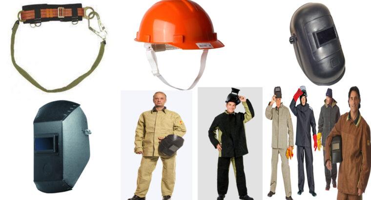 Haine de lucru, izolate, încălțăminte de lucru, EIP