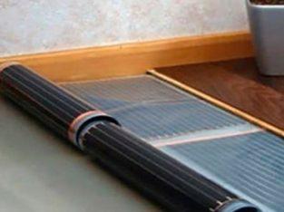 Încălzirea prin pardoseală sub filmul laminat cu infraroșu Heatmax