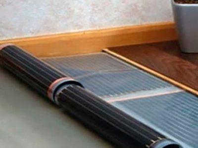 Теплый пол под ламинат инфракрасная пленка Heatmax