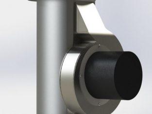 Exhauster H-0160 aspirator de fum | Bioprom