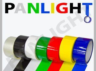 Скотч цветной, упаковочный скотч, panlight, самокл