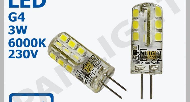 СВЕТОДИОДНЫЕ ЛАМПЫ G4, LED ЛАМПЫ, PANLIGHT, G4 LED