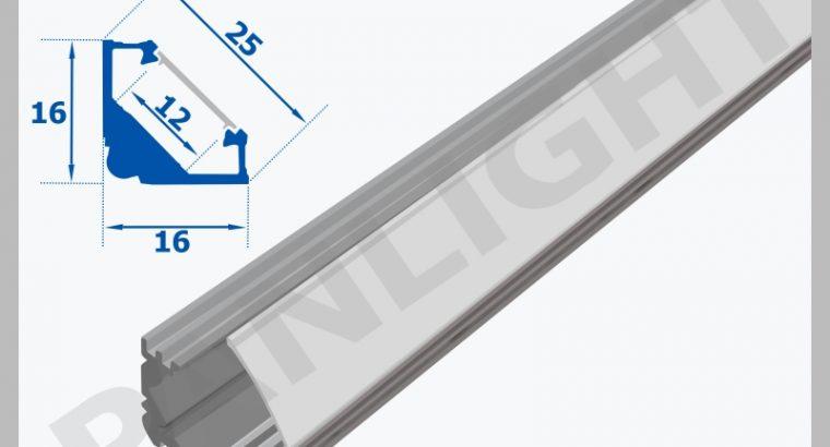 LED PROFILE PENTRU BANDA LED, ALUMINIUM PROFILE,