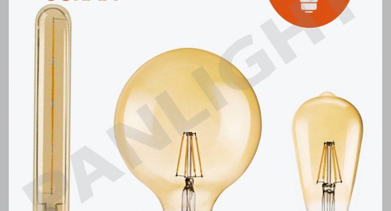 Becuri decorative, Edison, Vintage, osram, panligh