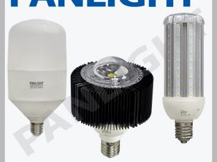 Мощные светодиодные лампы, led лампы e40, panlight