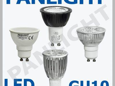 BECURI LED GU10, BECURI PENTRU CASA, PANLIGHT, BEC
