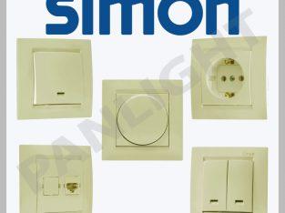 Prize si intrerupatoare Simon Electric N1in Barsel