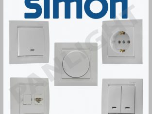 Prize si intrerupatoare Simon Electric N1in Barsel