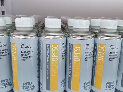 Эффективные очистители сажевого фильтра DPF