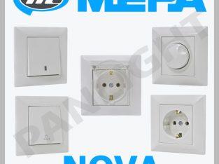 Розетки и выключатели в Молдове, makel, mepa, legr