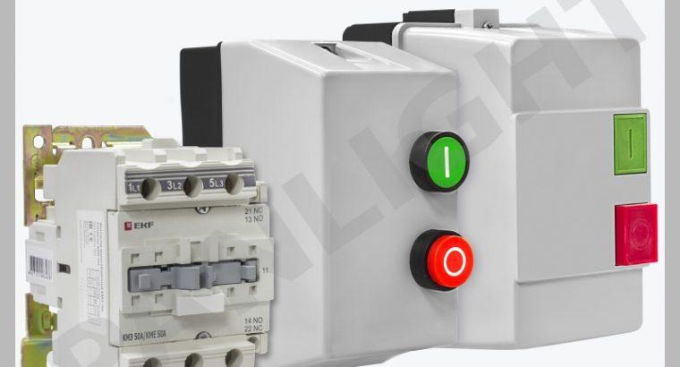 CONTOCTOARE ELECTROMAGNETICE, CONTACTOR, EKF, IEK,