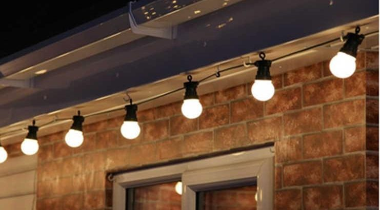 Garland Belt Light - ghirlandă de exterior rezistentă la umiditate