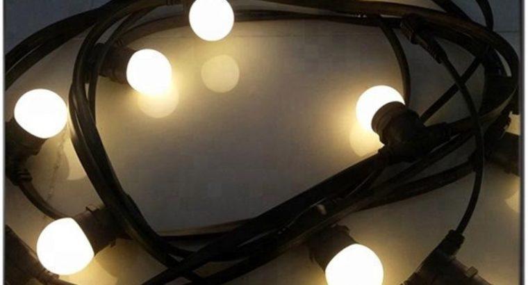Cablu ghirlanda luminoasa,10 m cu 20 dulii, ilumin
