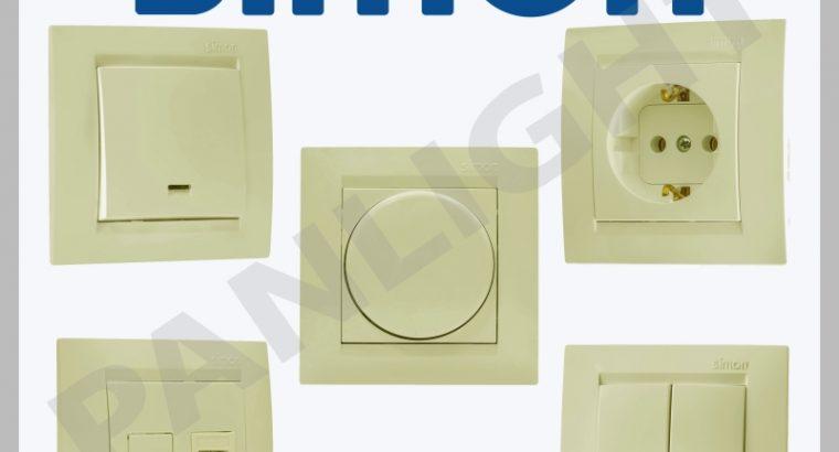 Розетки и выключатели Simon Electric N1 в Испании,