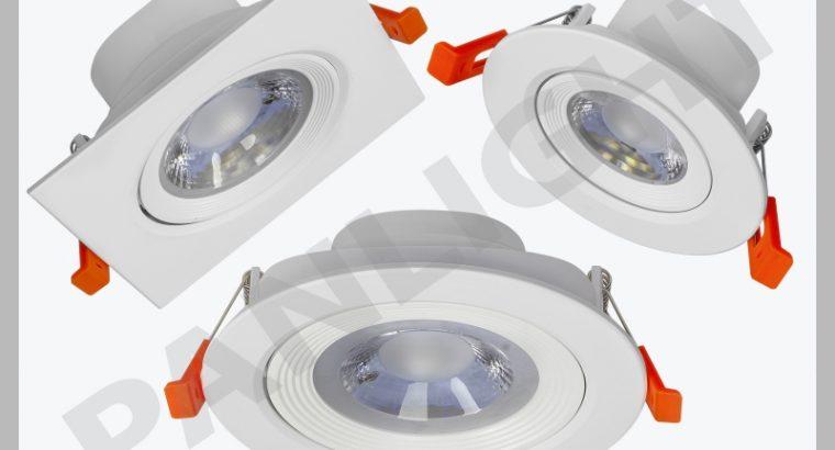 Поворотные потолочные светильники встраиваемые, pa