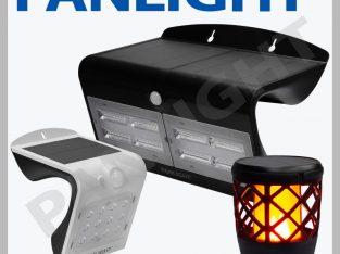 Светильники на солнечных батареях, лампы на солнеч