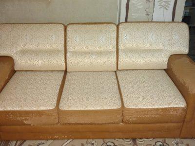Раскладной диван, кожзаменитель