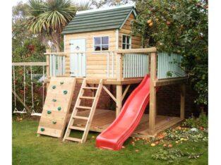 Loc de joacă pentru copii din lemn