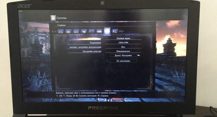 Acer Predator Helios 300 GTX 1060 6GB / 16GB RAM