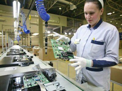 Uzina de producere și asamblare televizoare