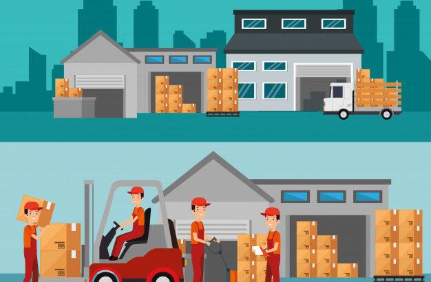 Для мужчин с гражданством ЕС работа на складах.