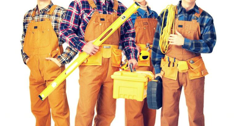 Construcție: Muncitori calificați, zidari, fasadă,