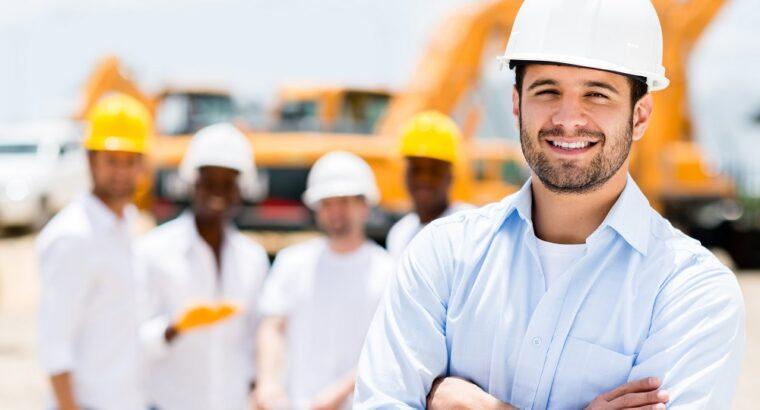 Muncitori în Europa. Construcție