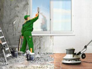 Curățenie după renovare