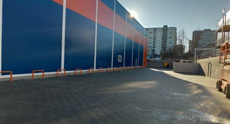 Аренда склада в Кишиневе 50-1000м2,4 €/м2,Ботаника