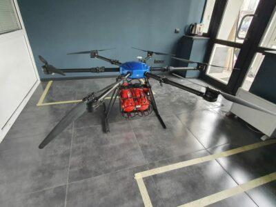 Dronă de stingere a incendiilor Dronă reactivă RDF-1