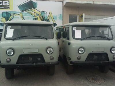 Новые микроавтобусы УАЗ