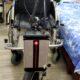 Dispozitiv de tracțiune cu scaun cu rotile